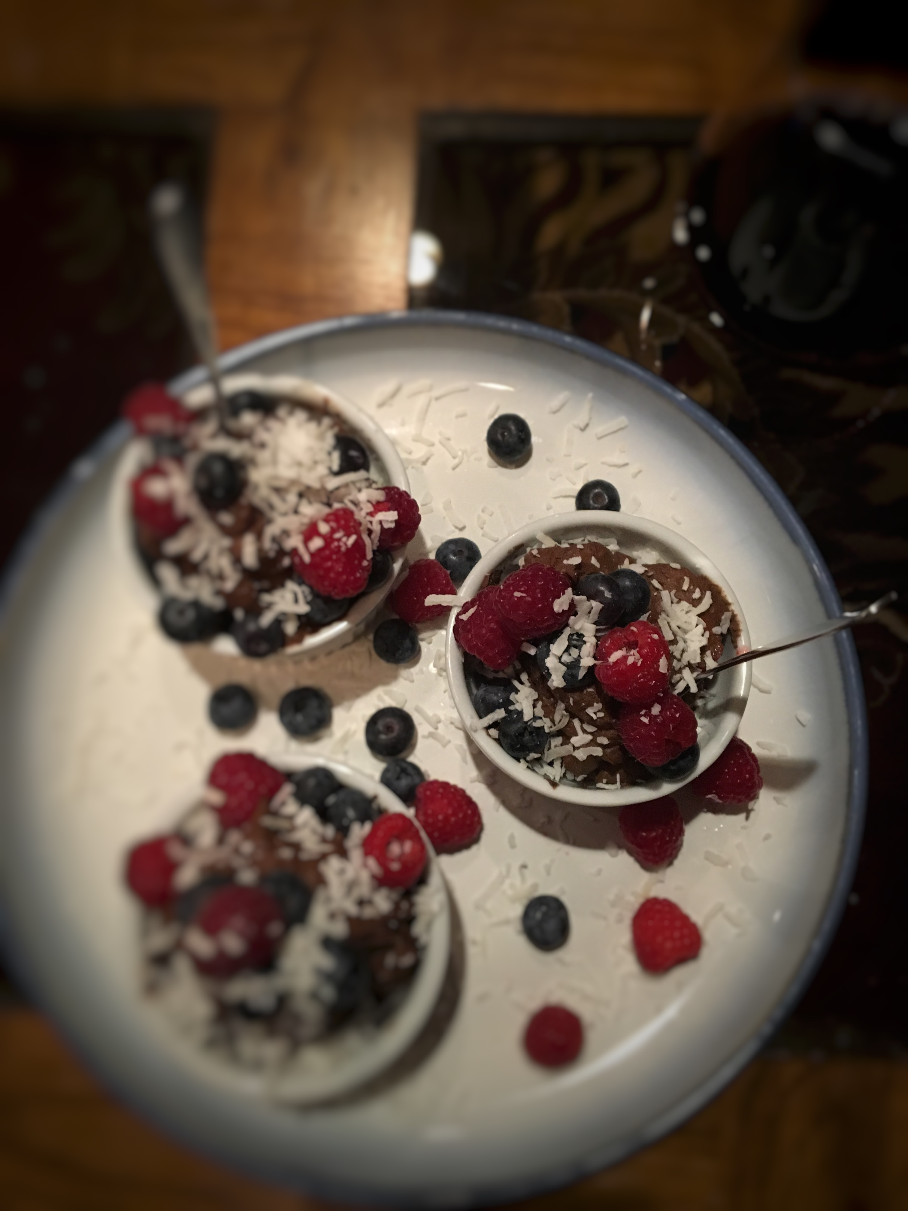 Vegan Dark Chocolate Mousse for Valentine's Day   Tina Marinaccio